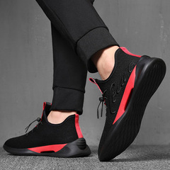 New Type of Baitie Leisure Sports Shoes in 2019 Men's Breathable Street Patting Running Shoes black 40
