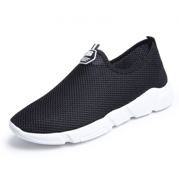 2018 ON SALE New men's fashion shoes breathable shoes casual shoes sneaker black 39