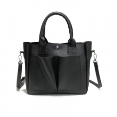 New women's bag large-capacity handbags wild casual section shoulder Messenger bag black length 32 width 11 height 27