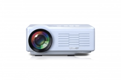 Mimi 3D HD Projector Home Movie Projector 1080P USB/SD/VGA/HDMI/AV/Micro USB/TV white 17*13.5*6.6cm