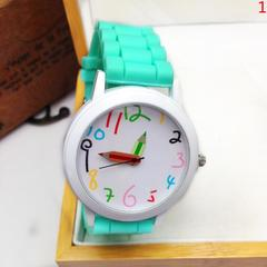 Fashion ladies silicone personality student watch trend belt fashion watch paint watch 1 1