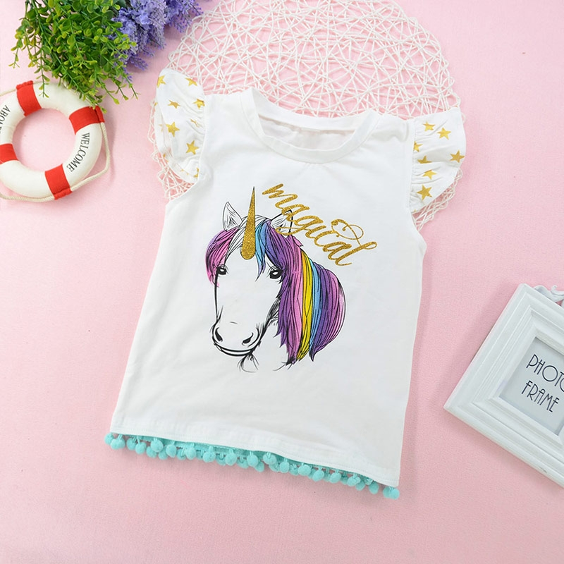 c39fe71a193f Cute Newborn Baby Girls Magical Unicorn Sister T-Shirt Romper Clothes  Outfits white ZM078AB BABY 90  Product No  382128. Item specifics  Brand   BABY KID