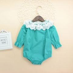 Child Baby Romper Suit Infant Jumpsuit Toddler Outfit 0-24M blue GG319C 100