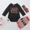 Summer children's wear baby 0-2Y baby crawls on the new baby gallus black GC087A 70