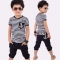Baby Boys Clothing Sets Navy Blue Toddler Outfit T-Shirt+Pants Marine Outfits royalblue GL022A 100