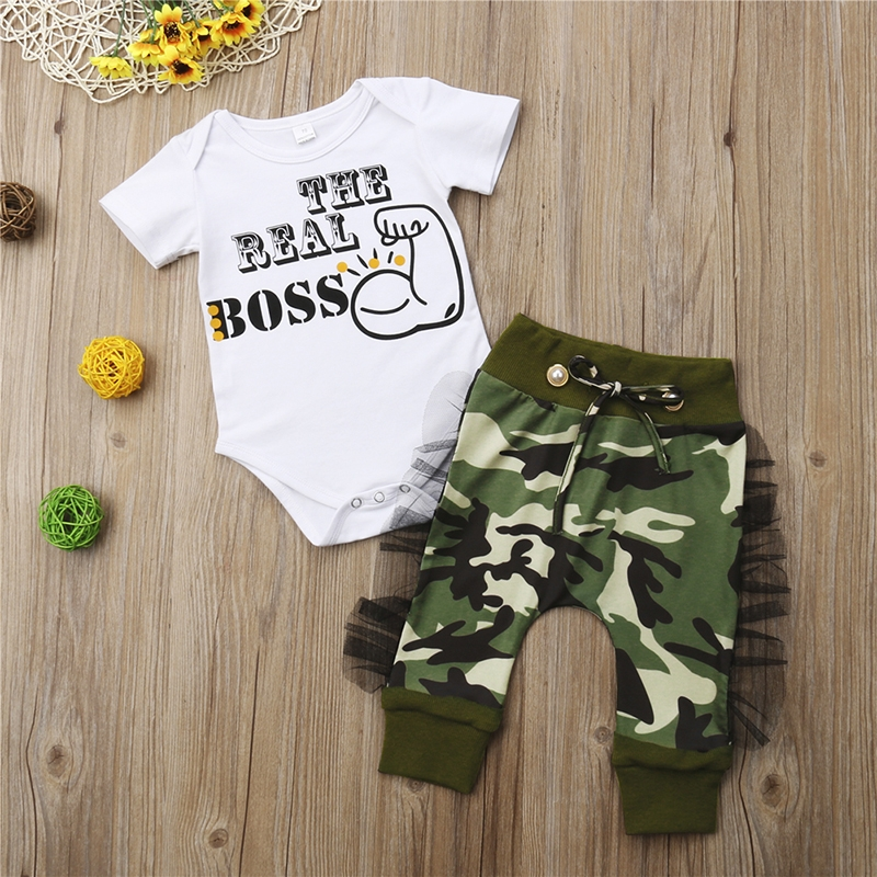 382f2f5f6f1 Fashion Kids Baby Boys Bodysuit Romper Camo Pants Harem Outfits Set Clothes  army green GG403A 70: Product No: 528524. Item specifics: Brand: