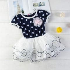 Baby Girl Summer Dress Lace Princess Wedding Dresses Clothing black GX124A 120