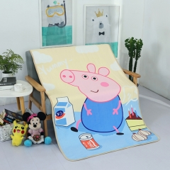 Cartoon Peppa Pig Blanket Soft And Comfortable Child George 100cm*160cm