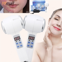 Hot Cold Hammer Ultrasonic Cryotherapy Skin Rejuvenation Face Lifting Beauty Massage Machine
