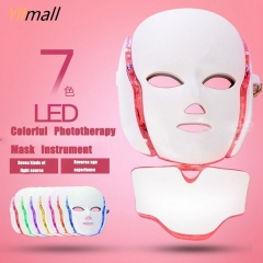 7 Colors LED Photon Therapy Face Mask Machine Light Therapy Acne Wrinkle Removal Beauty Led Mask