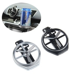 Car Outlet Water Cup Holder Plastic Drink Holder Air Conditioning Outlet Cup Holder Car Cup Outlet black one size
