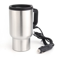 12V 450ml car hot water car travel mug portable thermostatic bottle