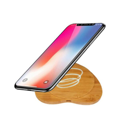Heart-shaped10watt fast charge mobile Wireless charger for iPhone 8 10 X Samsung S6 S7 S8 2-Coils St As shown 103*110*8mm