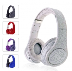 5XIAOHUO Wired Headphones Internet cafe game wired headset computer sports headset scalable white