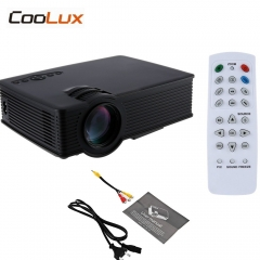 Mini LCD Projector 800x480pixels Support 1080P 2000 Lumens Home Theater Multimedia HD Proyector white normal