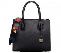 Women's Top Handle Handbags Tassel Genuine Leather Lady Satchel Shoulder Bag By Gagigakac