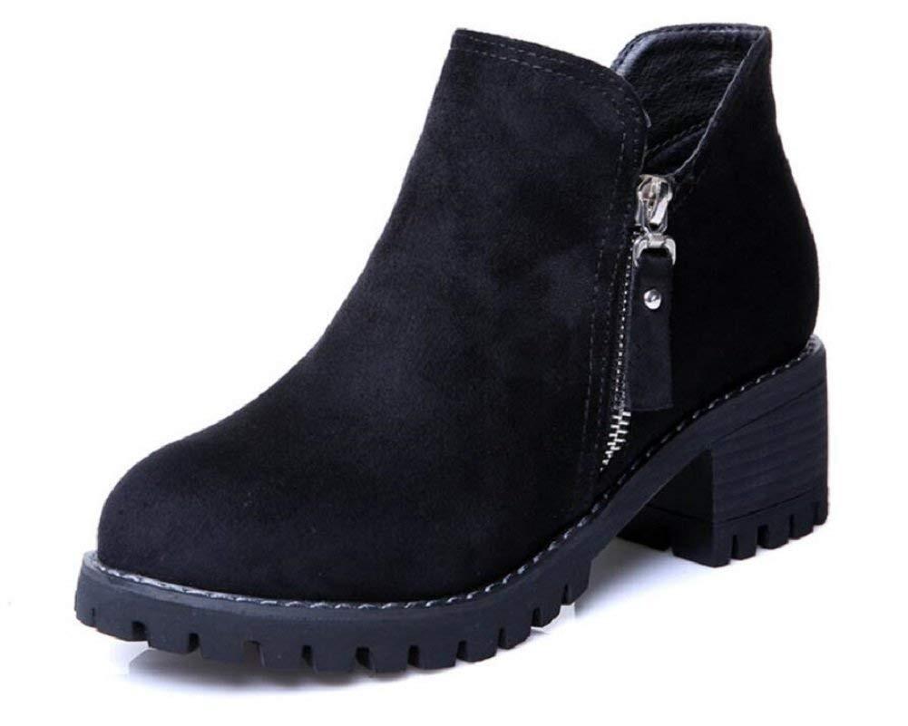 b9ddac03b700 Gagigakac Women s Shoes Leather Zipper