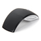 Wireless Mouse 2.4G Computer Mouse Foldable Folding Optical Mice USB Receiver for Laptop PC Computer Black one size