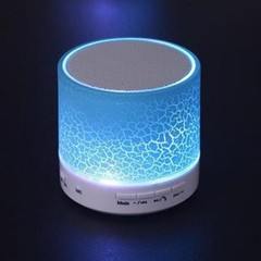 Mini Wireless Portable LED Luminous Hifi Music Bluetooth Crack Speaker Subwoofer HandsFree MIC
