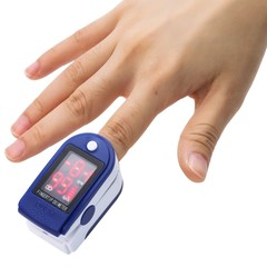 Gustala Instant Read Digital Pulse Oximeter Health Monitoring Fingertip Display