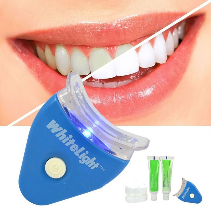 Tooth Whitening Device Health Care Compact Portable LED Light Tooth Whitening Device