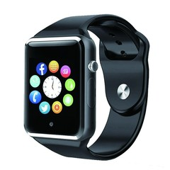 Android iPhone Bluetooth Smart Watch A1 Touch Screen Android Smart Wrist Watch for Phones Smart Black
