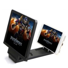 Hd Radiation Protection 3 D Mobile Phone Screen Magnifier Black one size