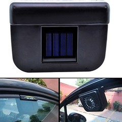 Portable Solar Powered Car Window Windshield Auto Air Vent Cooling Fan System Cooler Tool