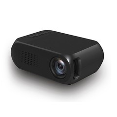 Portable Home Mini Projector High resolution HDMI USB LED 1080P Projector Black one size