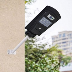 20LED Solar Radar Sensor Light Control Wall Street Light Outdoor Wall Lamp Lighting Waterproof