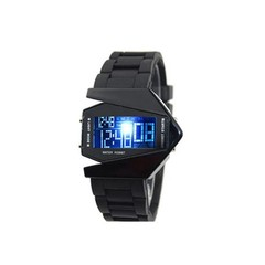 Fashion Wrist Watch Wristwatch Cool Luminous Led Men Women Couples Sports Electronic Watches Black