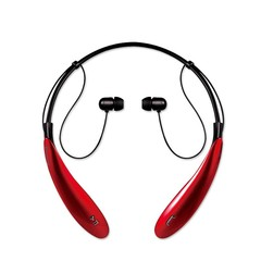 HBS800 Sports Bluetooth Headset CSR4.0 Stereo Wireless Headphones Red