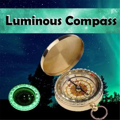 High Quality Hiking Compass with Luminous Capability Camping Accessories Classic Brass Pocket Watch