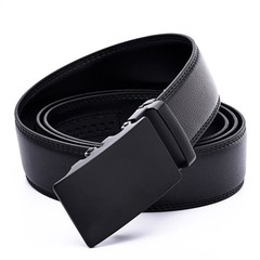 Genuine Leather Belts For Men Automatic Male Belts Leather Belt Men dropshipping Black Belts Black