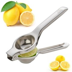 Stainless Steel Press Juicer Citrus Manual Juicer Kitchen Bar Food Processor Gadget Silver one size