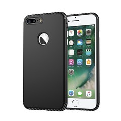 For iPhone 7/8 7plus/8plus iPhone X Case Mobile Shell iphone Mobile Shell TPU+PC Carbon Fiber Random iPhone 7/8