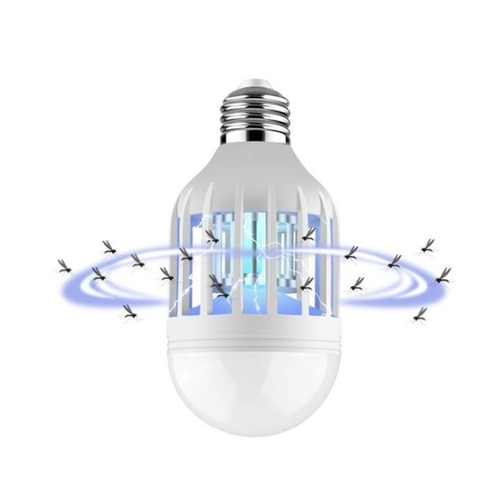 E27 15W Anti-Mosquito Electronic Pest Control light Bulb Flying Moths Killer lamp UV Trap Blue 15W as shown