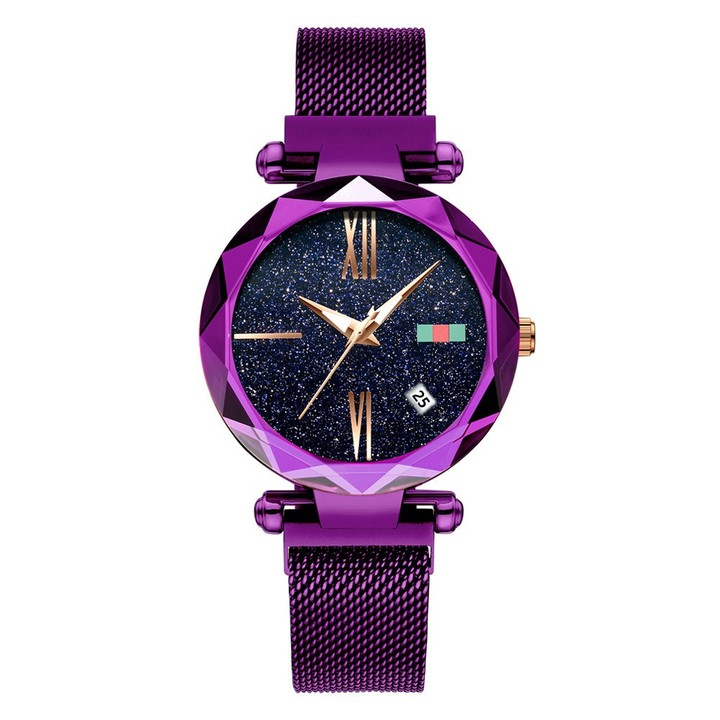 Star series fashion simple Trend waterproof Roman calendar ladies watch cool wind colorful Women's WristWatch