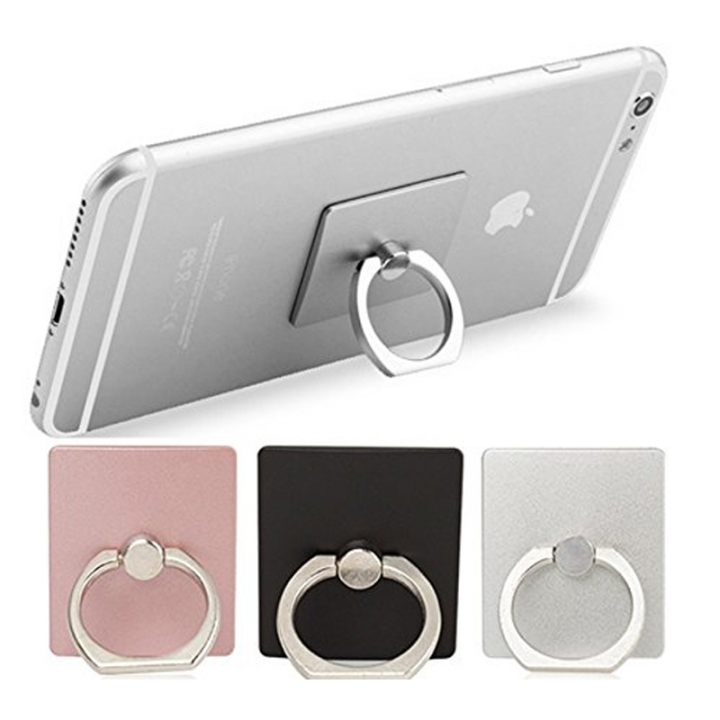 A Free Gift Phone Finger Ring Holder 360 Rotation, Gift is Limited if exhausted but no notice. random one size one model not