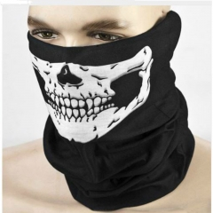 Skull print Multi-Purpose Scarf/Bandana/Mask, Ghost Festival, party, COSPLAY men gift