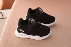 2018 autumn new fashionable net breathable leisure sports running shoes for girls shoes for boys black 19