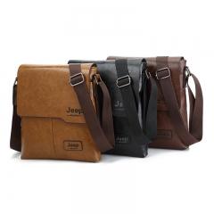 New men's shoulder bag Korean leisure diagonal bag fashion man bag brown 24cm×5cm×27cm