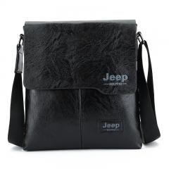 New men's shoulder bag Korean leisure diagonal bag fashion man bag black 24cm×5cm×27cm