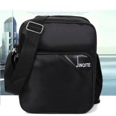 nylon Men Messenger Bag Casual Crossbody Bag Business Men's Handbag Bags for gift Shoulder Bags Men black 17cm×9cm×24cm
