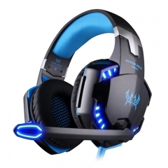 KOTION EACH G2200 USB 7.1 Surround Sound Vibration Game Gaming Headphone Computer Headset Blue