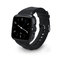 Smart watch GPS positioning fitness tracker black