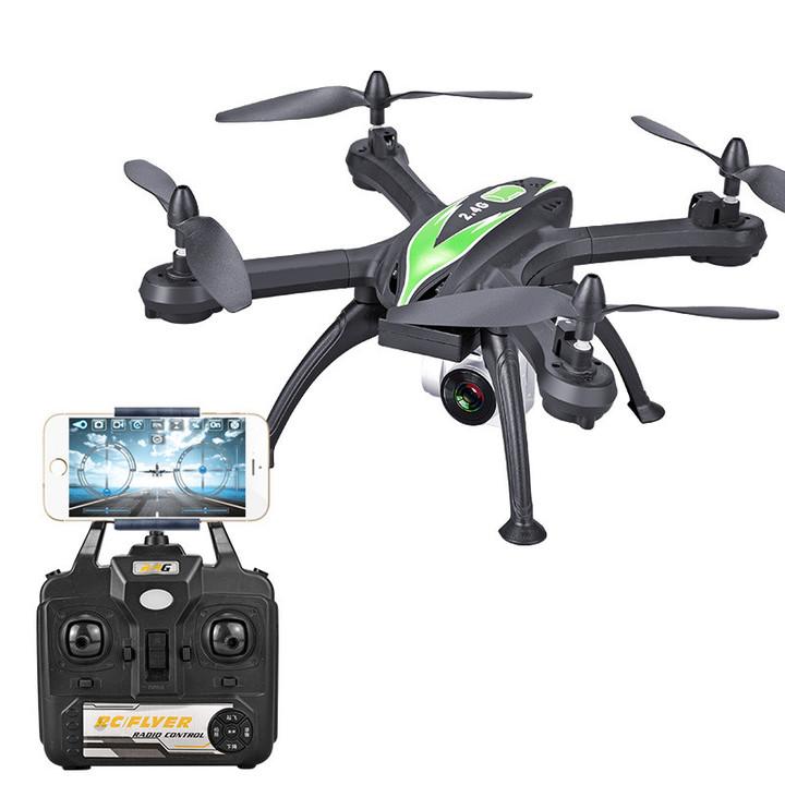 X6S long-life endurance drone aerial HD quadcopter black hd