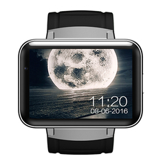 Android Smart Watch 2.2 Inch 3G Card Wifi Application Download GPS Positioning Navigation black