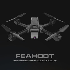 TYPE: 5G WIFI 2K Camera Foldable Drone black H73-2K