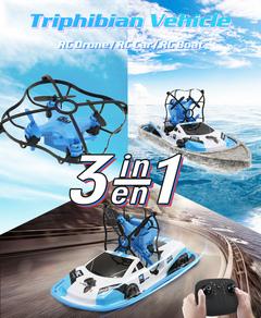 Drone Remote control car RC boat RC Toy red GW123-Three